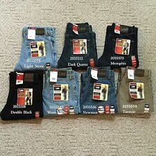 NWT LEE MEN'S RELAXED FIT DENIM JEANS Straight Leg Comfortable 20555 All Sizes