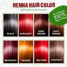 100% Pure Natural Organic Henna for Hair Color - Henna Hair Dye - Chemical Free