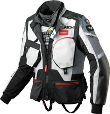 Spidi Black H.T. Raid Adventure Touring Jacket With Removable Water Proof Liner