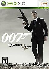 James Bond 007: Quantum of Solace (Microsoft Xbox 360, 2008)
