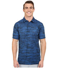 UNDER ARMOUR MENS UA GOLF PLAYOFF HEATGEAR POLO SHIRT BLUE S OR M #1253479-NWT