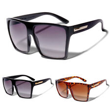 Womens Big XL Large Square Trapezoid Shape Oversized Fashion Trendy Sunglasses