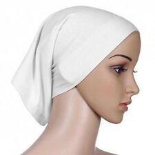 New Islamic Muslim Head Scarf Cotton Underscarf Hijab Cover Head Wrap Bonnet 1x