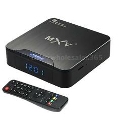 MXV+ Android 5.1 S905 Quad Core Smart TV Box WiFi HEVC 4K Bluetooth Media Player