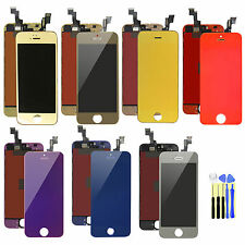 Mirror Color For iPhone 5S Replace LCD Display+Touch Screen Digitizer Assembly