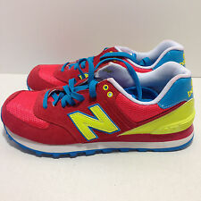 New Balance 'WL574BFW' (Watermelon/Yellow/Blue) Women's  574 Carnival