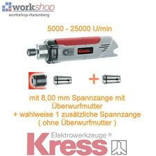 KRESS 1050 FME-1 Milling motor Action + optionally 2. Collet chuck / Year 2016