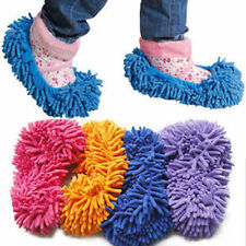 2Pcs Multifunction Dust Mop Slippers Shoes Office Room Floor Clean Cleaner Pair