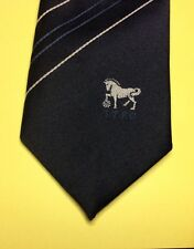 Ipswich Town FC Football Club 1970's vintage 70's Navy Blue TIE.