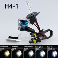 All Color Xenon HID Replacement Bulb Light 8000K White Blue Yellow Low beam H4 J
