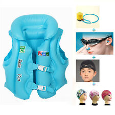 Baby Kids Float Swimming Set Aid Life Jacket Inflatable Swim Beach Vest