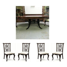 Thomasville Furniture Tate Street Round Dining Table & Chairs Set