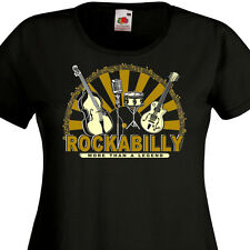 T-shirt femme ROCKABILLY - Rock'n'Roll Old School Retro 60's 50's SUN Elvis