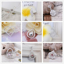 New Hot Wholesale Fashion Ladys Jewelry Solid 925 Silver Necklace Pendant