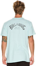 New Billabong Men's Arch Ss Tee Short Sleeve Cotton Soft Black