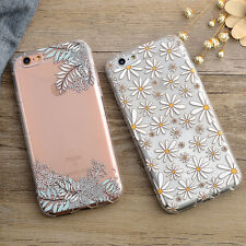 Pattern Clear Soft Silicone TPU Slim Case For Apple iPhone 6 6S 6/6S Plus