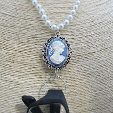 Victorian Lady Glasses Sunglasses Spectacles Eyeglass Holder Necklace Chain