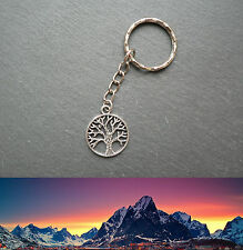 White Tree of Gondor Lord of the Rings Keyring Middle-earth Ringer Silver Gift