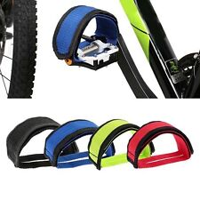 Fixed Gear Fixie BMX Bike Bicycle Adhesive Straps Pedal Toe Clip Strap Belt