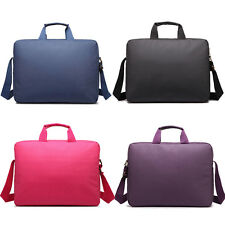 """15.6"""" Padded Laptop Shoulder Bag Widescreen Carry Case Notebook Briefcase"""