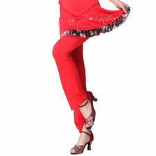 Latin/Belly Dance Lace Floral Trim Pants Ballroom Costume Standard Prom Wear