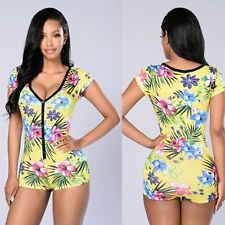 UK Summer Womens Celeb Sexy Mini Playsuit Jumpsuit Shorts Ladies Beach Sun Dress