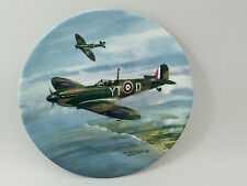 "Coalport REACH FOR THE SKY COLLECTORS PLATE ""DAWN PATROL"" by Michael Turner 1990"