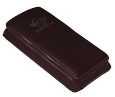 1993 Corvette Leather Console Cushion w/ Logo - 40th Anniversary Ruby Red