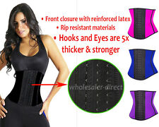 Latex Girdle Waist Cincher Corset Trainer Faja Cinturlla Workout Gym HOT Shaper