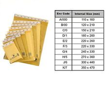 Mail Lite Bubble Lined Padded Envelopes Bags ALL SIZES & QUANTITIES Gold & White