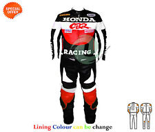 bike racing suit racing leather suit red two piece biker leather suit any size