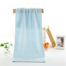 100% Color Bamboo Fiber Facecloth Antibacterial Soft Comfortable Bath Face Towel