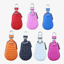 New Leather Key Bag Key Chain Case Family Key Pouch Car Case Keychain Ring Case
