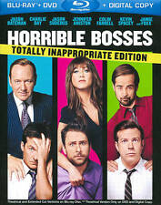 Horrible Bosses (Blu-ray/DVD, 2011, 3-Disc Set, Totally Inappropriate Edition;