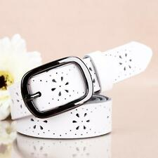 New Style Women Ladies Hollown Leather Belt Waist Strap with Pin Buckle