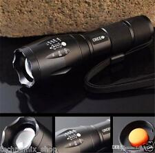 UltraFire CREE XM-L T6 LED 5 Modes Zoom Focus Rechargeable Best Flashlight Torch