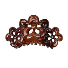 Phenovo Large Flowers Floral Hair Clamp Claw Clip Comb Grip Multi-purpose