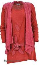 Pretty Angel Clothing Clothes Simona Sweater Shirt Dress In Rust S M L XL 10645