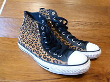 Converse All Star Hi Top Suede / Leather Trainers Sneakers Size UK 9 EUR 42.5