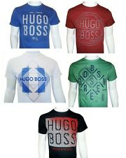 HUGO BOSS Green Label Crew Neck Cotton Short Sleeve T Shirts