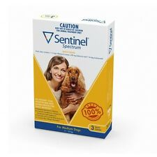 Sentinel Spectrum Yellow for Medium Dogs (11-22kg)   FREE Shipping to select ...