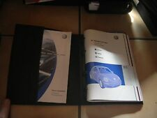 2006 VW BEETLE OWNERS MANUAL SET + FREE SHIPPING