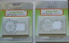 Tonic Studios Daisy flower large or pair  Gift Tag Craft Cutting Die Cut