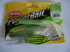 "BERKLEY HOLLOW BELLY FLIPPIN TUBE SOFT FISHING BAITS 5"" ALL COLOURS (3/pack)"
