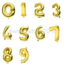 New Style Large Number Aluminum Foil Balloons Birthday Party Number Balloons