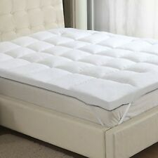 Luxury Goose Feather & Down - 15% Down Content - Mattress Topper Enhancer