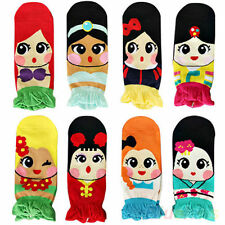 Fashion Womens Retro Vintage Cute Cartoon Girls Cotton Ankle Socks Low Cut Sock