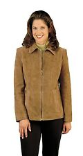 Reed Women's Genuine Suede Leather Fashion Jacket - Great Quality and Price
