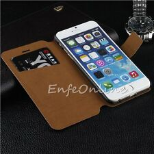 """Luxury Magnetic Flip Wallet Stand Leather Case Cover Skin for iPhone 6 Plus 5.5"""""""