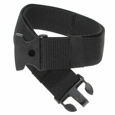 New Military Police Adjustable Fastener Dual-Safety Tactical Nylon Belt